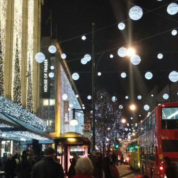 Vår första jul i stora staden