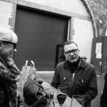 Henrik, Thomas and Håkan visiting