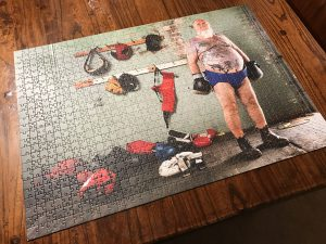 New year 1000 piece puzzle