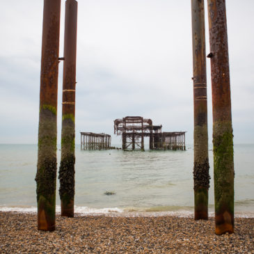 Summer weekend in Brighton