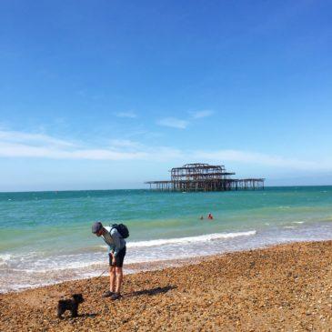 A windy Brighton